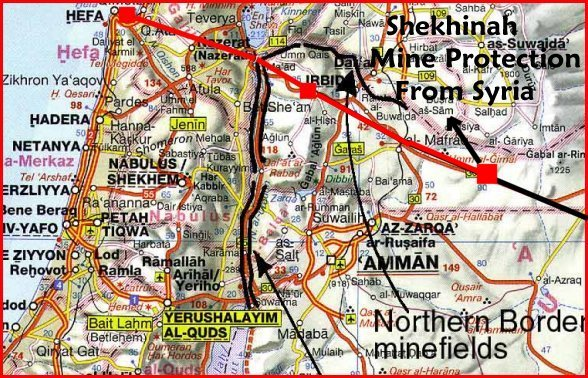Israel devoile son plan pour le vol des grands champs for Vol interieur israel